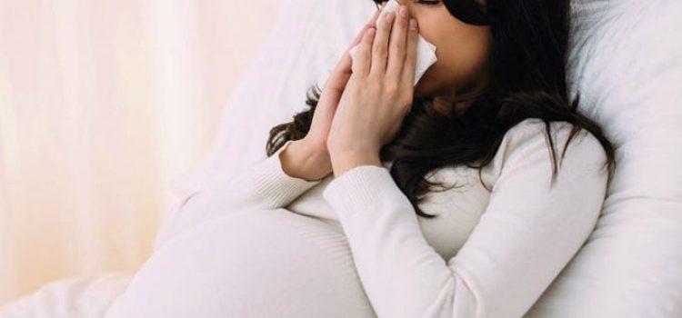 Tratamiento de la rinitis durante el embarazo